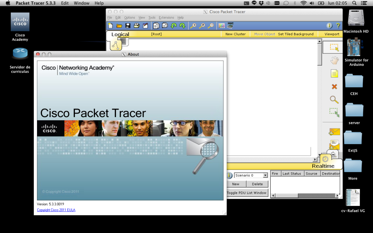 PackeTracer for Mac