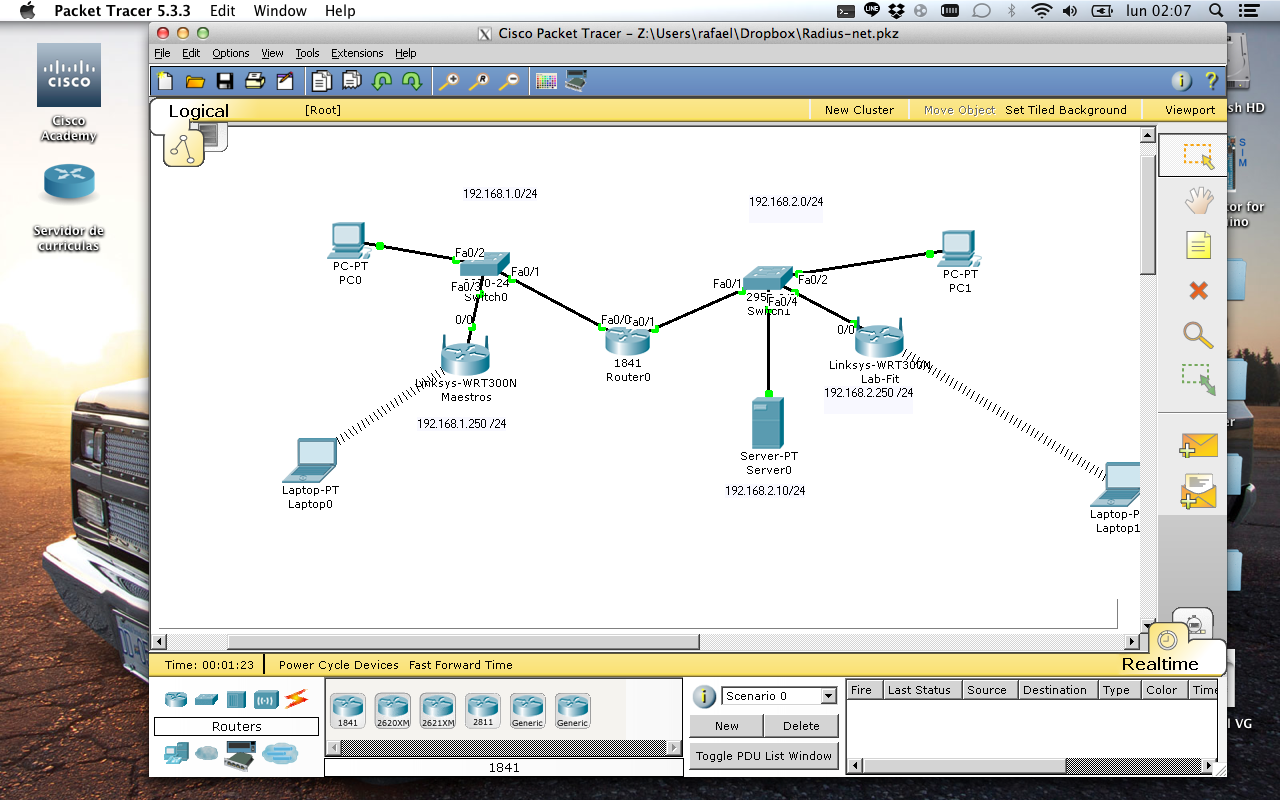 PACKET TRACER 5.3 2