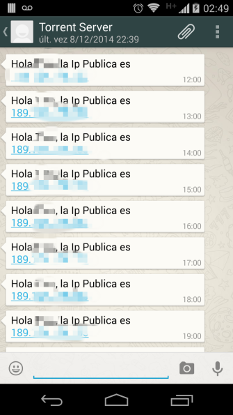 Whatsapp DDNS