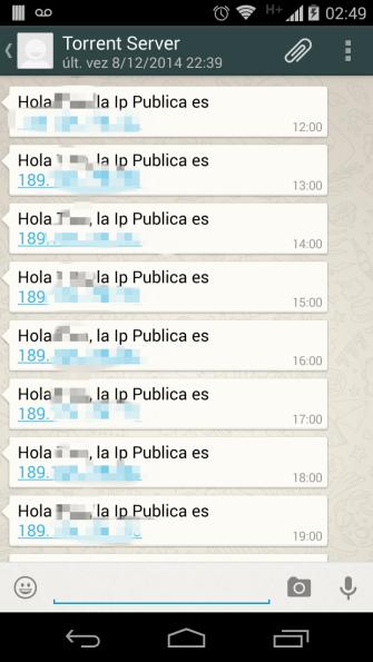 Whatsapp DDNS